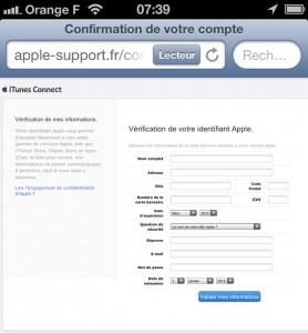 SCAM Apple