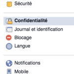Confidentialite Facebook