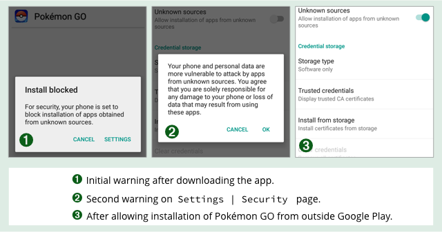application pokemon